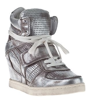 Ash Cool-ter wedge sneaker Silver