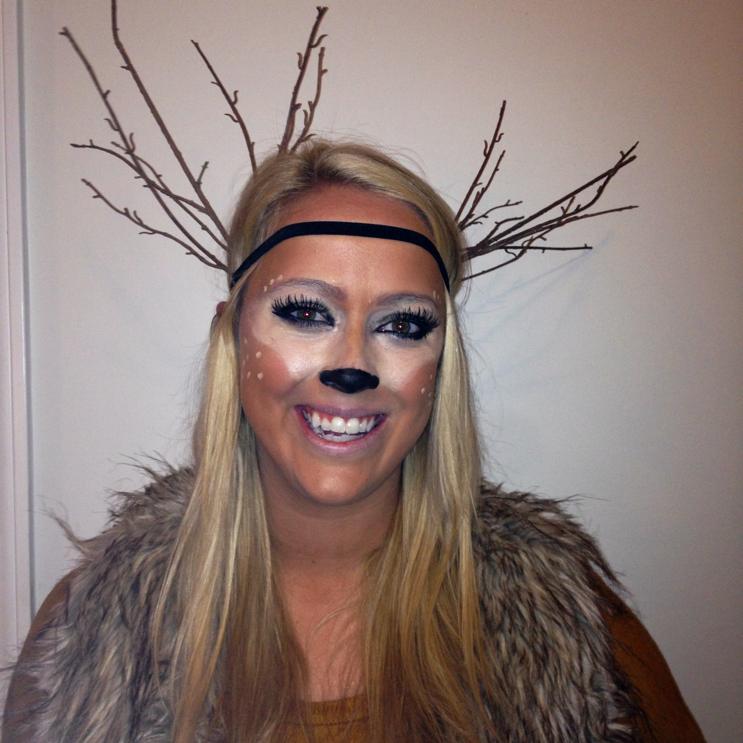 halloween costume tutorial ~ deer | lace & lacquer